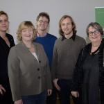 Mona Neubaur, Dagmar Hanses, Hendrik Flöttmann, Christian Langner und Jutta Maybaum