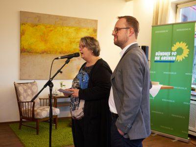 Jutta Maybaum und Sebastian Strumann