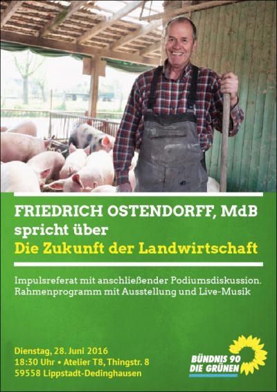 Plakatentwurf Ostendorff