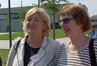 Dagmar Hanses, MdL und Ursula Jasperneite -Bröckelmann, Fraktionssprecherin Lippstadt
